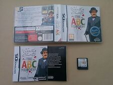 Agatha Christie The ABC Murders - Nintendo DS Complete with Manual