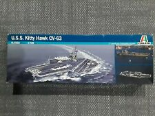 Italeri Model Kit US Navy Aircraft Carrier USS Kitty Hawk