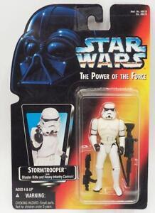 Kenner Star Wars Pouvoir de la Force Stormtrooper avec Rouge Carte Action Figure