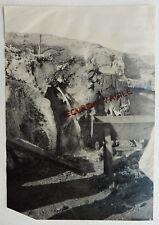 PHOTO MANUEL GUERRE 14 18  SERBIE ANGLAIS à DOIRAN LA FONTAINE GLACEE 1916 A244