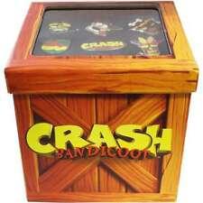 Rare crash bandicoot N. Sane trilogie Crate Premium 9 pin badge Nouveau Ensemble Cadeau