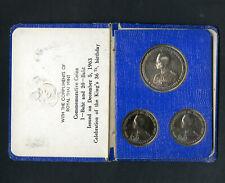 Thailand Coins 1963 Nickel 1 & 20 Baht Commemorative MIB NO RESERVE!