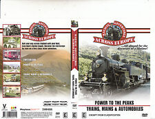 Railway Adventures Across Europe-Power To The Peaks/Trains,Mains-Trains-DVD