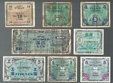 Japan Germany France & Italy ✨ 8 pieces Military currency 🎇 Collections & Lots
