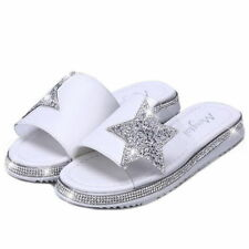 "Flat 0 to 1/2"" Women's Solid Slippers"