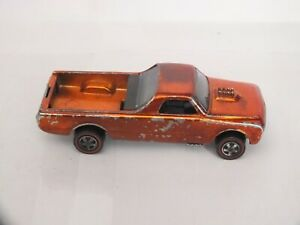 vintage hot wheels  (red line )  custom fleetside