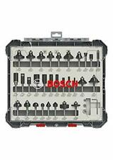 Bosch Professional 30-Piece Wood Bit Set With 1/4 Inch Shank Router 2607017476