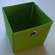 Faltbox Aufbewahrung - Stoff - faltbar - 15 x 15 x 15 cm - 6 Farben - NEU