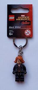 Lego Black Widow Keychain/Keyring - Marvel/DC Superheroes 853592 (Retired)