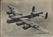 Postcard 1464 - Aircraft/Aviation Real Photo Lancaster Bomber UK