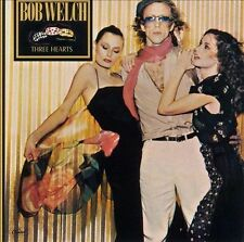 BOB WELCH Three Hearts [Bonus Tracks Remaster] (CD 2003)  BRAND NEW