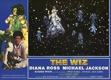 DIANA ROSS MICHAEL JACKSON THE WIZ 1970 VINTAGE PHOTO FRENCH LOBBY CARD N°1 MINT