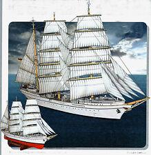 Gorch Fock Bastelbogen für das schönste Segelschulschiff der Welt Schreiber1:200