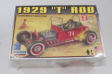 "Lindberg 1929 Ford ""T"" Rod Model Car Kit 1:24 Hot Rod New Sealed 1950's Lakester"