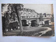 """CPSM """"Le Mans - Bords de la Sarthe - Les jardins et le nouveau pont Yssoir"""""""