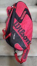 Wilson Pro Tour K Factor Tennis Racquet Bag Red/Black