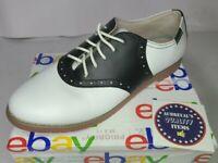 Eastland Women's Shoes Size 10 M Black & White Sadie Lace-Up Oxford 3331-13