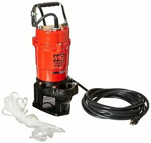 Multiquip ST2040T Electric Submersible Trash Pump with Single Phase Motor, 1 HP,