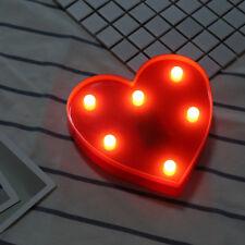 Vintage LED Marquee Letter Lights Sign Alphabet Symbol Wedding Party Xmas Decor