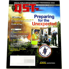Qst Ham/Amateur Radio Arrl Magazine - September 2012 N6Bt Q-52 Portable Hf Yagi
