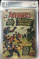 Hot! Zemo Is Back!Avengers #15 Graded PGX not CGC CBCS The Death Of Baron Zemo!!
