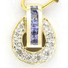 Beauty Yellow Gold Fine Pendants