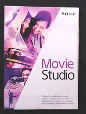 Sony Movie Studio 13 -DVD-ROM-Windows 8 / Windows 7 NEW Sealed w/ Box Shelf Wear