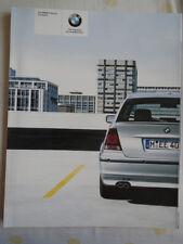 BMW 3 Series Compact brochure 2004 ed 1 + price list