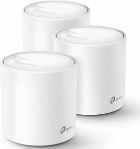 TP Link DECO X20 (3-PACK) Ax1800 Whole Home Mesh Wi-fi System - SEALED NEW