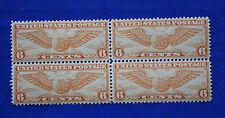 United States (#C19) 1934 Winged Globe MNH block of 4
