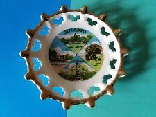 Vintage Souvenir Mini Plate Gettysburg Pa
