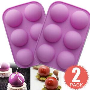 Moule à gâteau demi-sphère 3D Muffin chocolat Cookie moule de cuisson cadeau