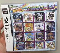 23 in 1 Nintendo DS Multi Cart Pokemon Games 23 Pokemon Games FAST SHIPPING!!