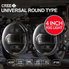 2x 4 inch 40W CREE LED Fog Lights To Fit Ford Ranger XL XLS T6 T7 Raptor
