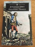 Gulliver's Travels by Jonathan Swift Paperback book