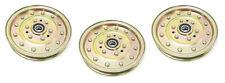 3 Idler Pulleys For Exmark Toro 126-7685 1-633109 116-4667 Husqvarna 539102610