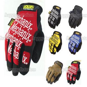 Army Tactical Gloves Military Bike Race Sports Mechanic Airsoft Mechanix Wear