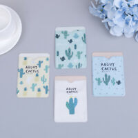 Cactus double&layer card note holder bus business credit cover case wallet ZT