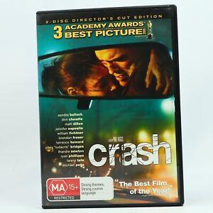 Crash Matt Dillon Sandra Bullock DVD Good Condition Free Tracked Post AU