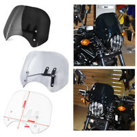 Motorcycle Windscreen Windshield with Bracket For Honda CMX500 Rebel 2018-2020