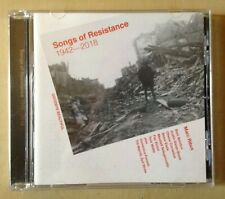 Marc Ribot Songs Of Resistance 1942-2018 PROMO CD Earle Ndegeocello Tom Waits