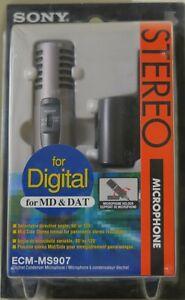 SONY ECM-MS907 Stereo Kondensator Mikrofon - TOP ZUSTAND