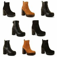 Unbranded Casual 100% Leather Block Heel Shoes for Women