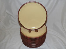 Denby Langley Juice Lemon Luncheon / Salad Plates - buy up to 7 pairs of 2