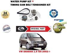VW SHARAN 1.9 TDI 2002- > NEUF Chaîne de distribution Gates Kit TENDEUR +