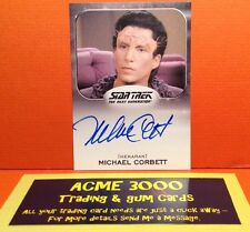 Rittenhouse Star Trek 50th Anniversary AUTOGRAPH - MICHAEL CORBETT - Dr Rabal
