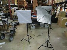 Photo Basics #405 Green Screen Video Lighting Kit Excellent Condition