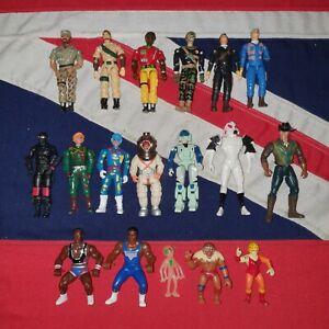 Vintage Action Figures JOB LOT BUNDLE GI Joe The Corps A-Team Thundercats Force