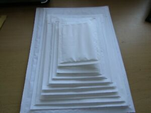 50 GENUINE FEATHERPOST  PADDED JIFFY BUBBLE ENVELOPES BAGS *MIXED SIZES