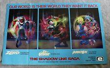 Shadow Line Saga 1988 Doctor Zero St George PowerLine Epic PROMO Poster FN